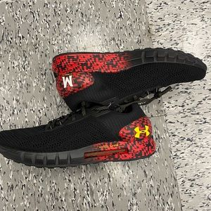 """New Under Armour Black MARYLAND TERRAPINS """"HOVR"""